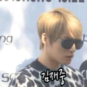 [VID] 131021 Jaejoong à la Fashion Week de Seoul2014