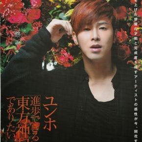 [SCANS] 131210 Yunho pour les magazines Women's Weekly & JoseiJishin