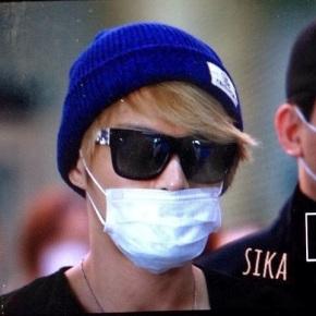 [PICS] 131209 Jaejoong à l'aéroport deNanjing