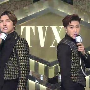 [VID] 140112 TVXQ – «Something» Live @Inkigayo