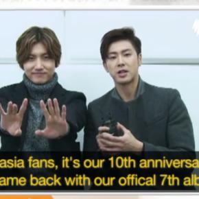 [VID + TRAD] 140211 SBS POPSASIA – Message du nouvel an de TVXQ pour les fansaustraliens