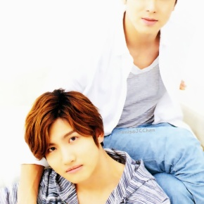 [SCANS] 140312 Tohoshinki – Magazine AnAn No.1897