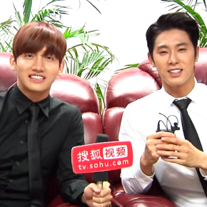 [VID + TRAD] 140820 Interview exclusive de TVXQ avec SOHU