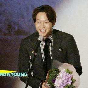[PIC+FANCAMS] 141204 Yoochun aux '15th Busan Film Critics AssociationAwards'