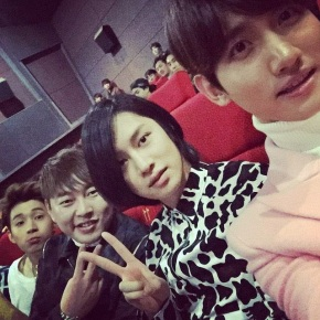 [PIC + TRAD] 150107 Changmin sur le twitter d'Heechul