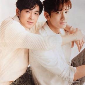 [PIC/SCANS] 150403 Tohoshinki pour le magazine 'Nikkei Entertainment' (numéro de mai 2015) – partie2