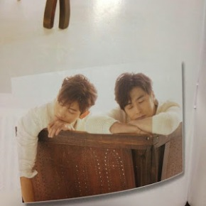 [PIC] Tohoshinki pour le magazine Nikkei Entertainment (numéro de mai2015)