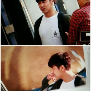 [PIC] 150517 Yunho est allé soutenir BoA pour soncomeback
