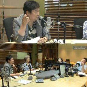 [TRAD] 150911 Le chanteur Nam Jin félicite Yunho pour son jeu d'acteur et son personnage dans le film 'International Market'