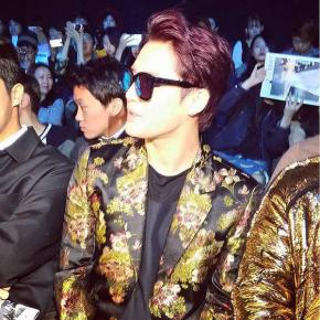 [PIC] 151019 Junsu à la 'Seoul Fashion week S/S2015'