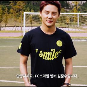 [VID] 151030 Junsu – FC SMILE Le défi de la barretransversale