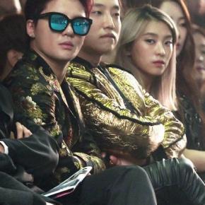 [VID] 151019 Junsu à la '2015 Seoul FashionWeek'