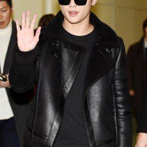 [PIC] 151203 Junsu à l'aéroport Incheon (Corée) puis à celui de Taoyuan (Taipei,Taïwan)