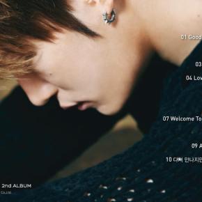 [INFO] 150126 Jaejoong – Liste des chansons de son nouvel album «NO.X»
