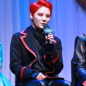 """[NEWS] 160126 Junsu parle de son amour pour la comédie musicale""""Dracula"""""""