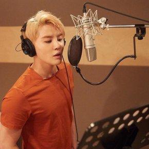 [PIC+VID+AUDIO] 160615 Junsu chante 'Lean On Me', l'OST du drama 'Lucky Romance'(MBC)