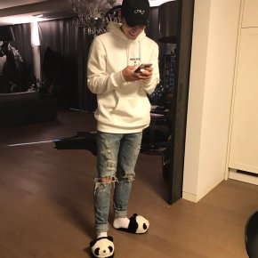 [PIC+TRAD] 170107 Jaejoong – JYJ LINE : 8ème jour depuis son retour duservice