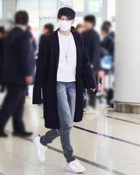 [PIC] 170220 Jaejoong à l'aéroport de Incheon → Nagoya (+cjes.tagram)