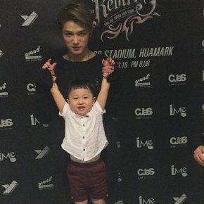 [PIC] 170320 Jaejoong avec son neveu (sur l'Instagram de sasoeur)