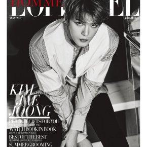 [PIC] 170411 Jaejoong – Magazine 'L'OFFICIEL HOMMES Korea' (mai2017)