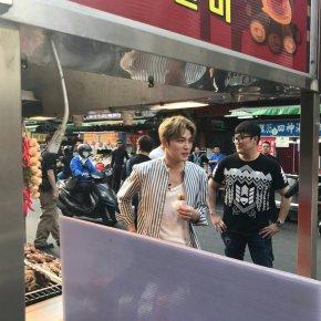 [PIC+VID] 170421 V LIVE : Jaejoong à Taïwan(preview)