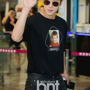[PIC] 170714 Yunho à l'aéroport de Gimpo →Osaka