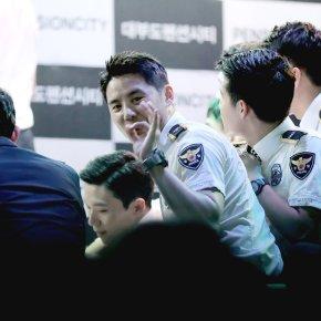 [PIC+FANCAMS] 170808 Junsu – Evénement avec la police deGyeonggi
