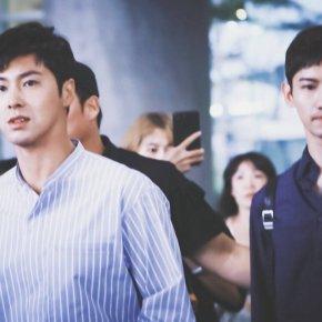 [PIC] 170823 TVXQ! à l'aéroport de Incheon, de retour enCorée