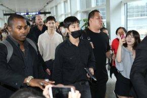 [PIC] 170822 TVXQ! – Arrivée à l'aéroport de HongKong