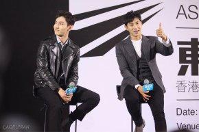 [VID] 170822 TVXQ! ASIA PRESS TOUR in HongKong