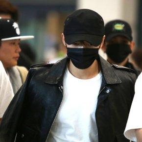 [PIC] 171007 Jaejoong à l'aéroport de Incheon, de retour enCorée