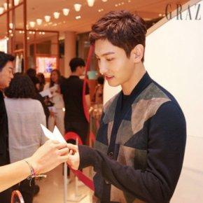 [PIC] 171030 Changmin à l'événement spécial pour la sortie du nouveau parfumHermès