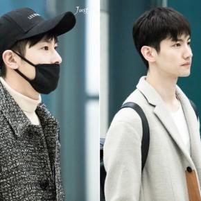 [PIC] 171112 TVXQ! à l'aéroport de Shin-Chitose (CTS) → Incheon(Corée)