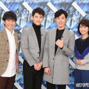 [INFO] Le groupe Tohoshinki apparaîtra dans l'émission 'Love music' le 26.11.2017(00h30~01h25)
