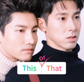 [VID] 171125 TVXQ! – Interview « Ceci ou cela ? » pour 'VOGUE KOREA' (dec. 2017)