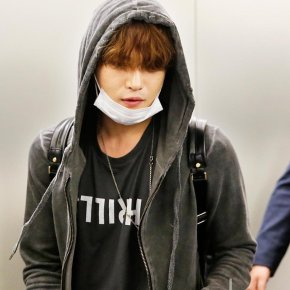 [PIC] 171104 Jaejoong à l'aéroport de Incheon → Taïwan