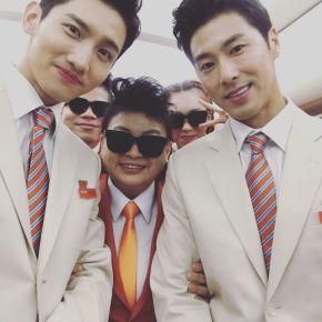[PIC] 171212 TVXQ! sur divers réseaux sociaux (Jeju air + SMTOWNgala)