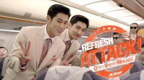 [VID] 171211 TVXQ! – Jeju Air RefreshAttack
