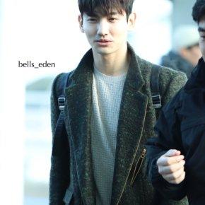 [PIC] 180111 TVXQ! à l'aéroport d'Incheon →Japon