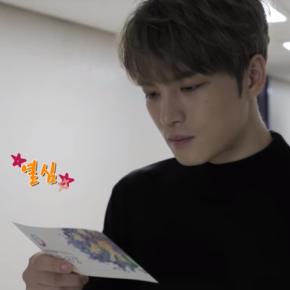 [VID] 180129 Jaejoong – 5th EDAILY CULTURE AWARDS (behind)(180123)
