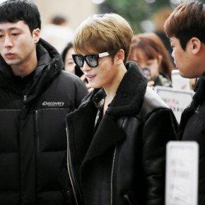 [PIC] 180130 Jaejoong à l'aéroport deGimpo