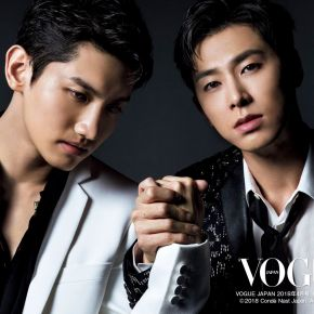 [PIC+VID] Tohoshinki pour VOGUE Japan (avril 2018)