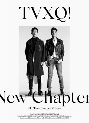 [INFO+PIC] 180328 TVXQ! – Sortie de l'album 'New Chapter #1 : The Chance Of Love' + Welcome Back Party