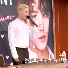 [VID] 180315 Junsu – It's XIA TIME! : 'XIGNATURE' fansign privé (film)