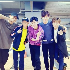 [PIC] 180327 TVXQ! sur l'Instagram du SMTOWN (avec Leeteuk, Chen etChanyeol)