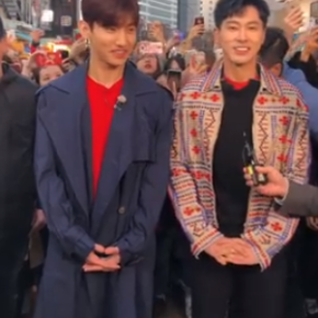 [VID] 180328 TVXQ! – 'Guerilla Date' (Entertainment Weekly) preview