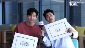 [PIC+VID] 180329 TVXQ! – Interview exclusive avec AlArabiya (preview)