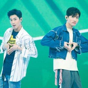 [PIC+VID] 180329 TVXQ! – Performance de 'Love Line' + 'The Chance Of Love' (MCOUNTDOWN)
