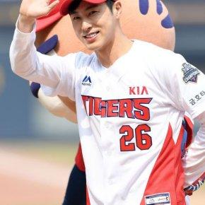 [PIC+VID] 180324 Yunho – '2018 KIA Tigers Opening Series' àGwangju