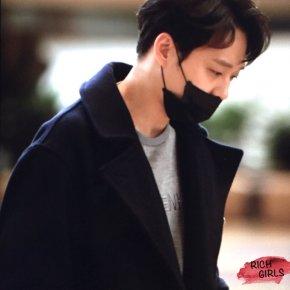 [PIC] 180308 Yoochun à l'aéroport de Gimpo →Tokyo